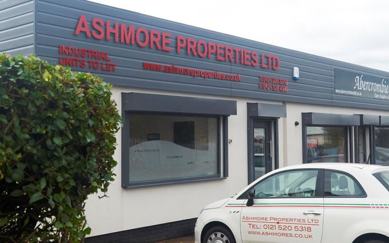 Ashmore Properties - Industrial units for the West Midlands