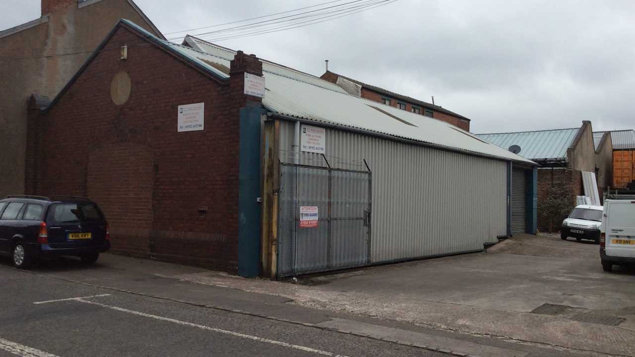 Short Acre Street, Walsall Industrial Units, Walsall Industrial Property, Walsall West Midlands